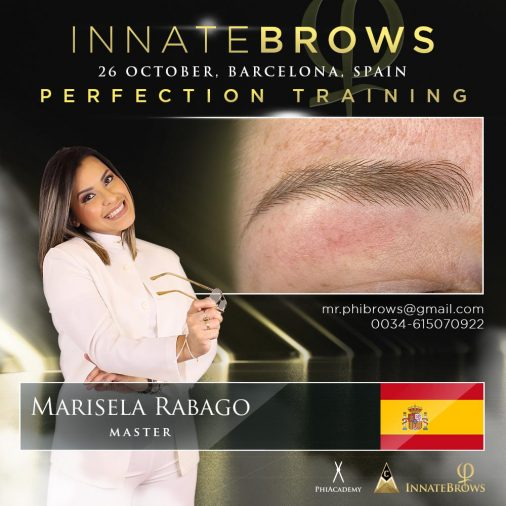 Innate Brows Perfection Training (26 Octuber, Barcelona, Spain)